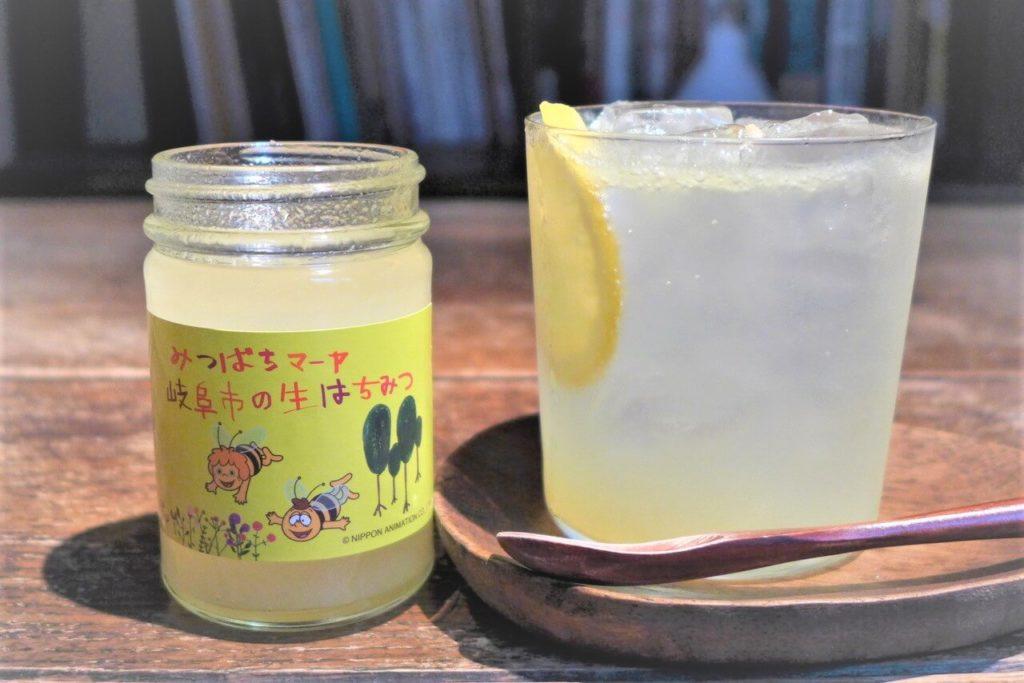 はちみつレモンソーダの作り方