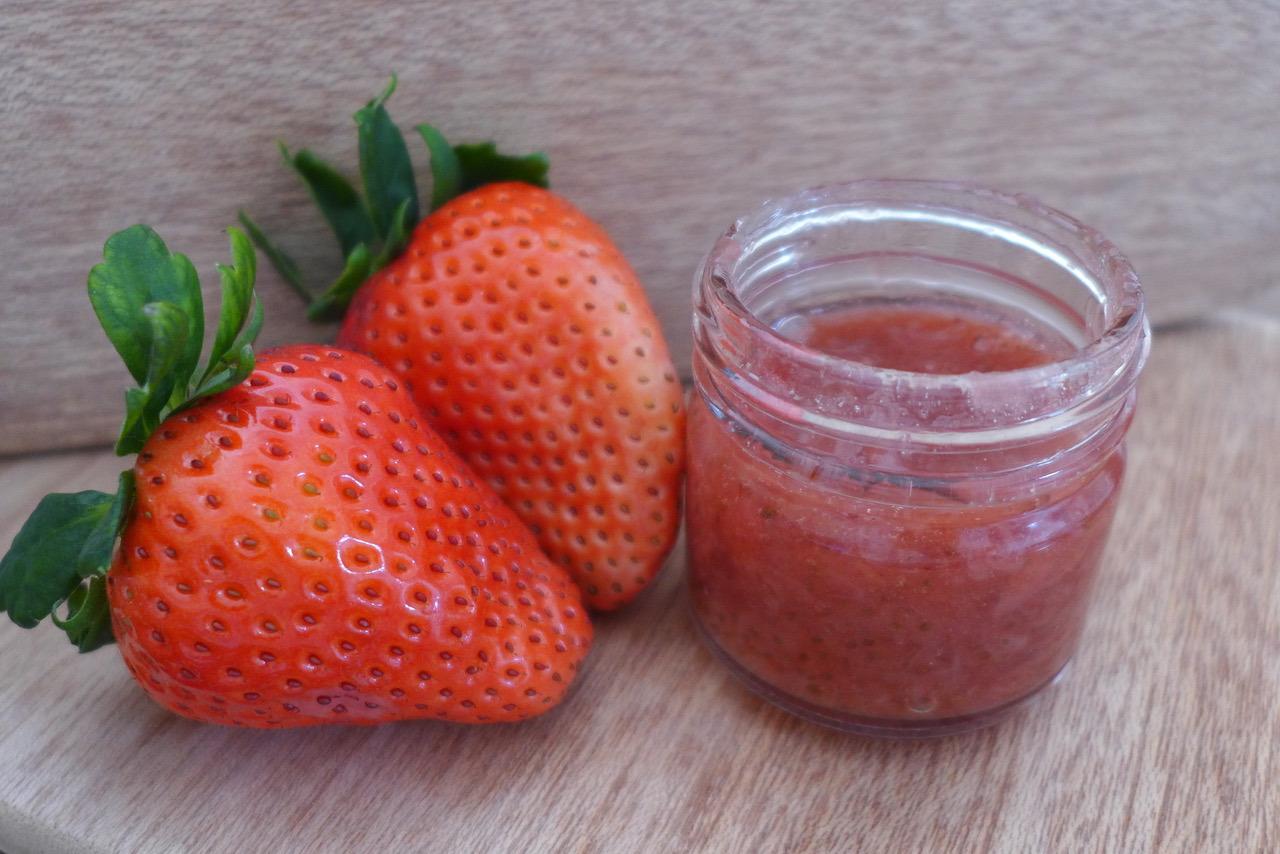 砂糖不使用の無農薬イチゴジャムの作り方